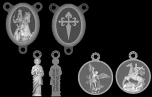 Corona Rosario Madonna delle Milizie