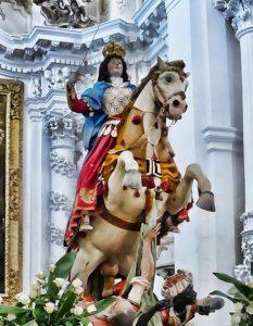 Madonna a cavallo - Maria SS. delle Milizie