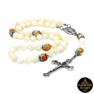 Acquistare online corona rosario madreperla