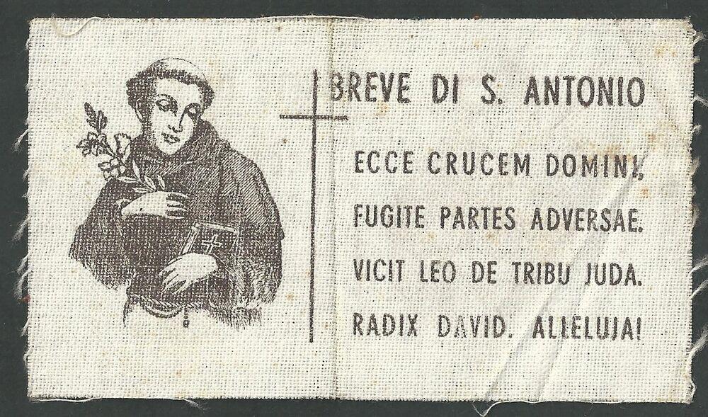 Breve (motto) di Sant'Antonio