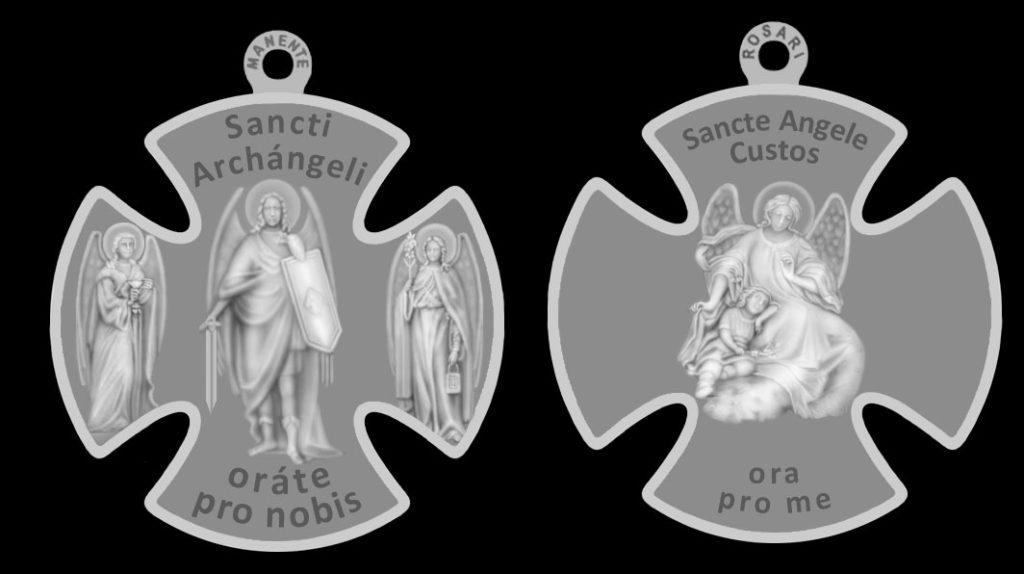 Croce-Medaglia in onore dei Tre Santi Arcangeli